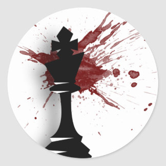 """""""The King"""" Classic Round Sticker"""