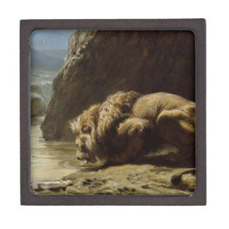 The King Drinks by Briton Riviere Jewelry Box