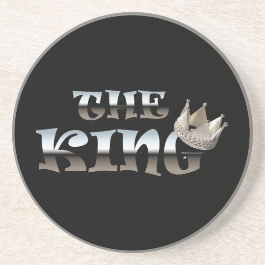 The King Fathers Day Gift Drink Coaster