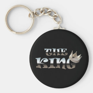 The King Fathers Day Gift Keychain