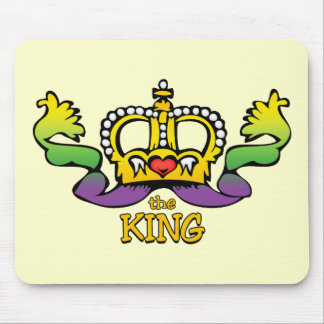The King gets the BIG beads Mouse Pad