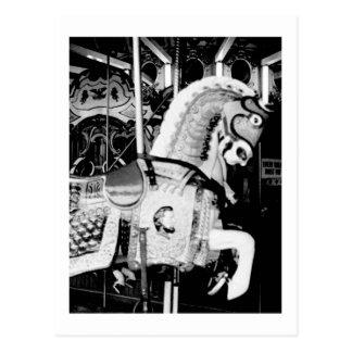 'The King Horse' (Coney Island, NY) postcard