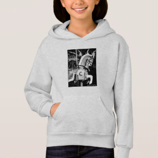 'The King Horse' Kid's Hoodie  Sweatshirt