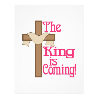 The King Is Coming Letterhead