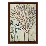 The King Is Fed From The Holy Tree (Lady Of The Sy Greeting Card