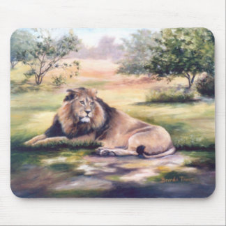 The King Lion Mousepad