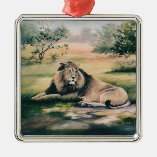 The King Lion Ornament
