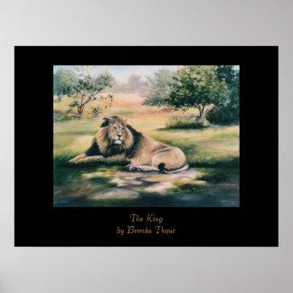 The King Lion Print