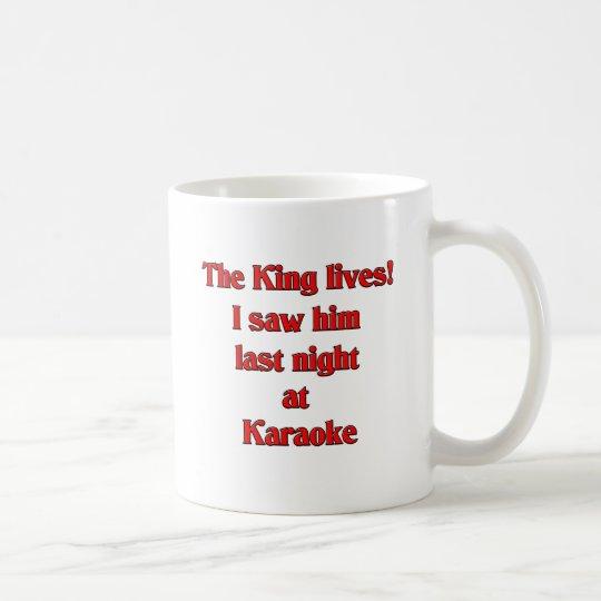 The King Lives Coffee Mug