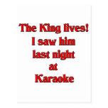 The King Lives Postcard