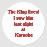 The King Lives Sticker