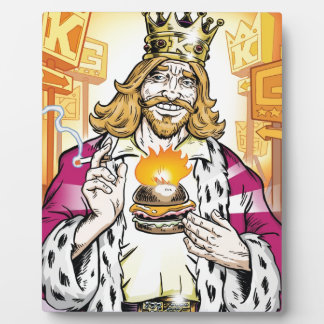 The King Loves You. Plaque