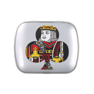 The King of Clubs Candy Tins