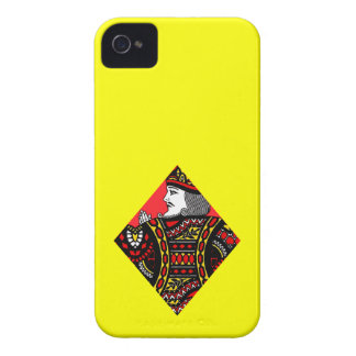The King of Diamonds iPhone4 Case