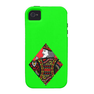 The King of Diamonds iPhone 4 Cases