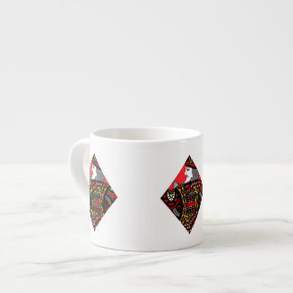 The King of Diamonds Espresso Cup