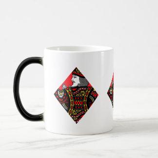 The King of Diamonds Magic Mug