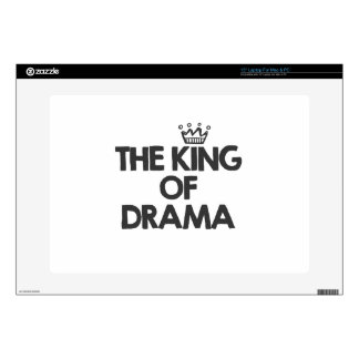 "The king of drama 15"" laptop decals"