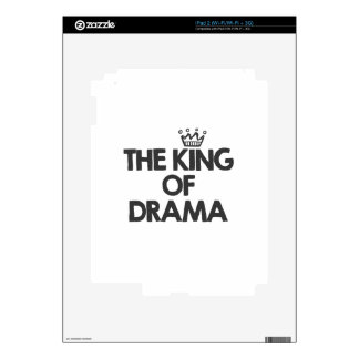 The king of drama decal for iPad 2