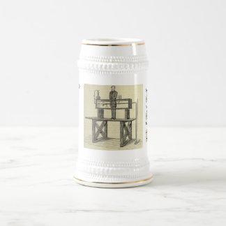 The King of Flow 18 Oz Beer Stein