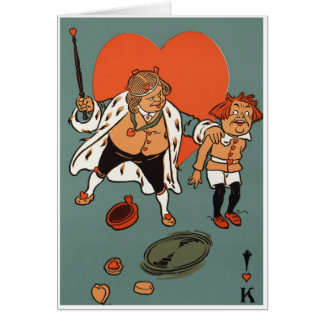 The King Of Hearts Card
