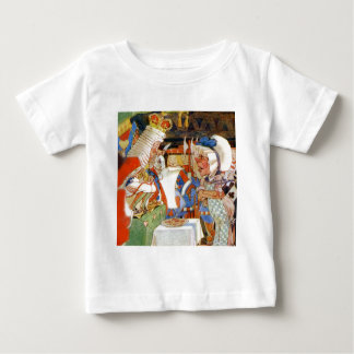 The King Of Hearts Questions the Cook Baby T-Shirt
