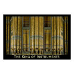 The King of Instruments organ poster - Birmingham