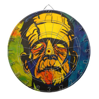 The King of Monsters Dart Board