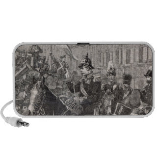 The King of Prussia addressing the Berliners Portable Speaker
