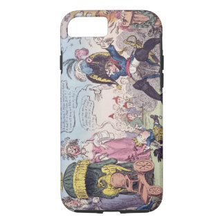 The King of Rome, 1814 - cartoon showing Napoleon iPhone 8/7 Case