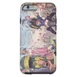 The King of Rome, 1814 - cartoon showing Napoleon Tough iPhone 6 Case