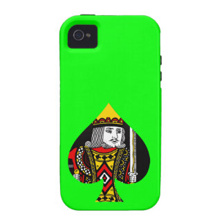 The King of Spades Case-Mate iPhone 4 Covers