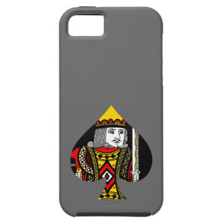 The King of Spades iPhone 5 Case