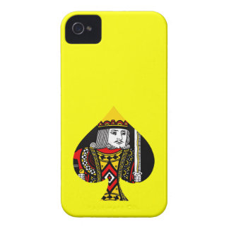 The King of Spades Case-Mate iPhone 4 Case