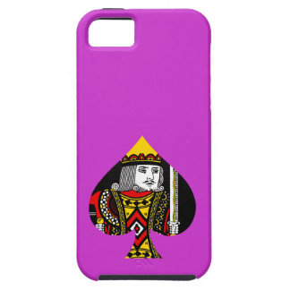 The King of Spades iPhone 5/5S Cover