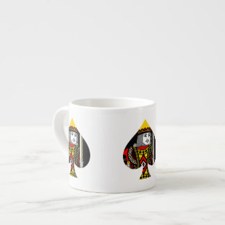 The King of Spades Espresso Cup