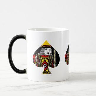 The King of Spades Magic Mug