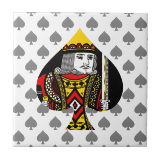 The King of Spades Ceramic Tiles