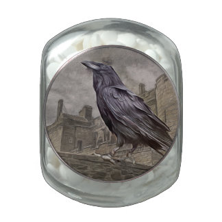 The king of the crows jelly belly candy jar