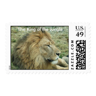 The king of the Jungle Postage