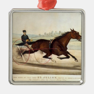 The King of the Turf, 'St. Julien' Metal Ornament