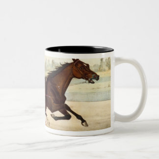 The King of the Turf, 'St. Julien' Two-Tone Coffee Mug