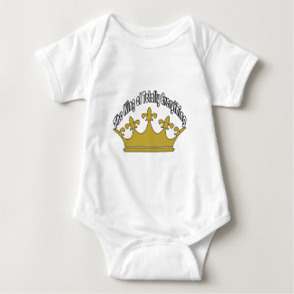 The King of Totally Everything Baby Bodysuit