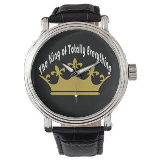 The King of Totally Everything Wristwatch