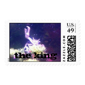 the king postage stamps