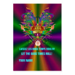 The King Queen Custom Throw Large Business Cards (Pack Of 100)