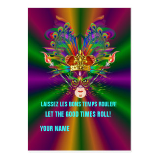 The King Queen Custom Throw Large Business Card