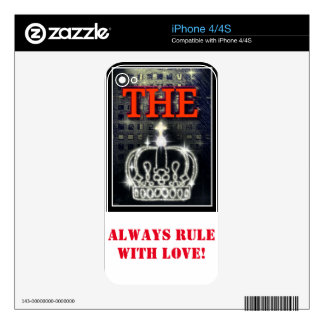 THE KING SKINS FOR THE iPhone 4
