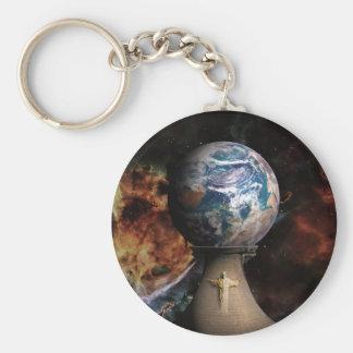 The Kingdom Basic Round Button Keychain