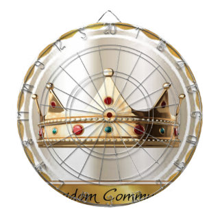 The Kingdom Community Crown 2 Dartboard With Darts